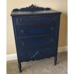 Image of Napoleonic Blue Antique Chest