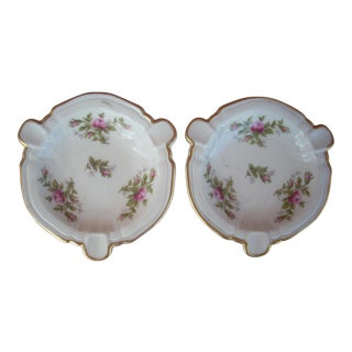 Rosenthal China Ashtrays - A Pair