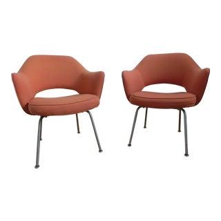Eero Saarinen for Knoll Mid Century Chairs - a Pair