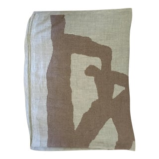 Kelly Wearstler Gray & Taupe Throw