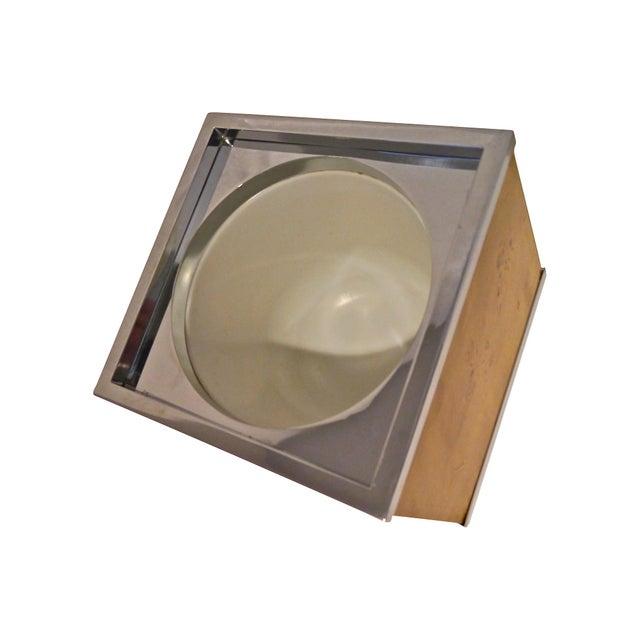 Burlwood and Chrome Italian Ice Bucket - Image 5 of 7