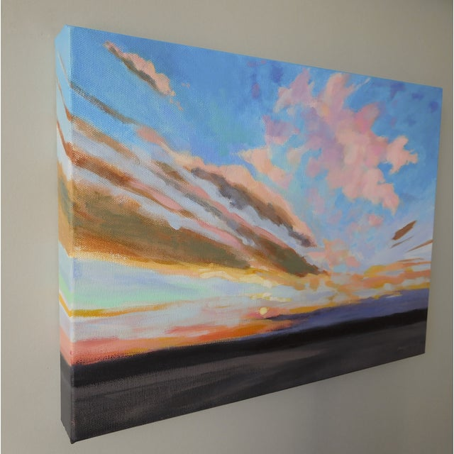 """Sunrise"" Original Painting A.Carrozza Remick - Image 3 of 7"