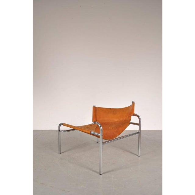 "Lounge Chair ""sz12"" by Walter Antonis for Spectrum, Netherlands, circa 1970 - Image 9 of 9"