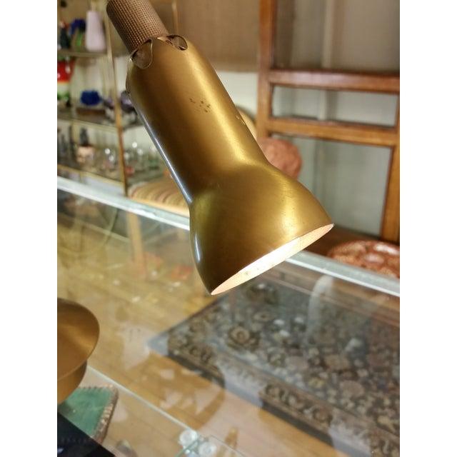 Levenger Brass Gooseneck Reading Lamp - Image 4 of 7