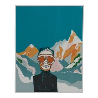 Zermatt drawing over fiberglass by Gabriela Valenzuela-Hirsch