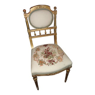 French Antique Vanity Chair