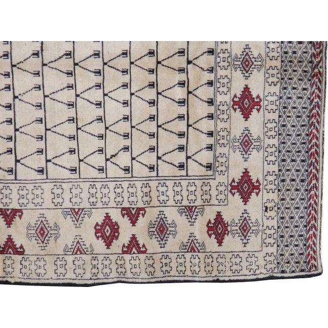 "Vintage Persian Baluchi Rug - 3'10"" X 5'10"" - Image 2 of 3"