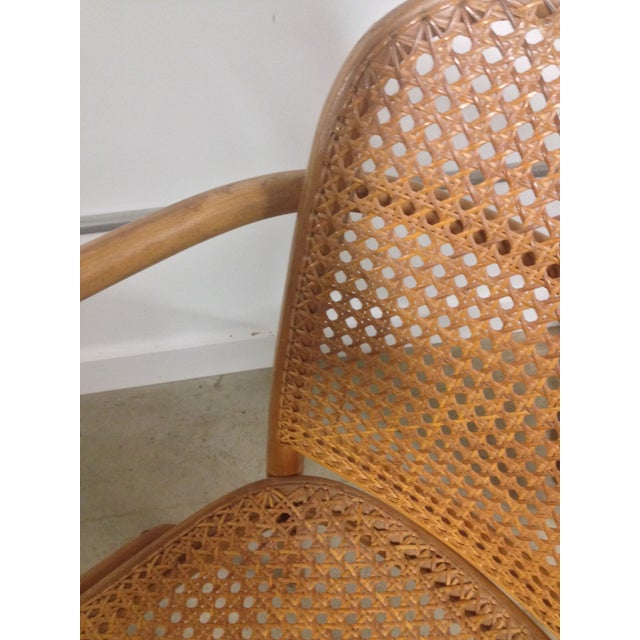 Thonet Mid-Century Bentwood and Cane Armchair - Image 7 of 8