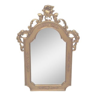 Gilt Baroque Wall Mirror
