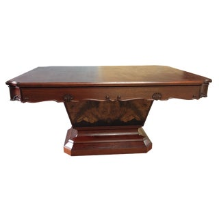 Art Deco Rectangular Dining Table