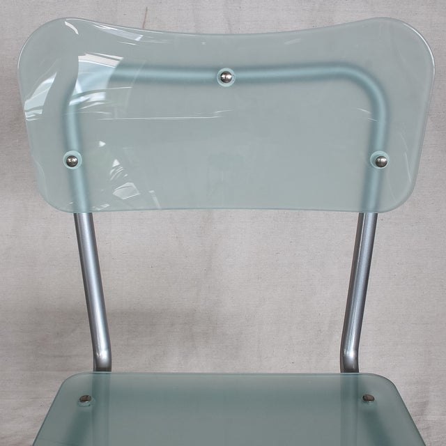 Tim Power for Zeritalia Glass Chip Chairs - A Pair - Image 7 of 10