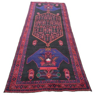 "Vintage Persian Bidjar Rug - 4'10"" x 13'6"""