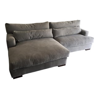Custom Sectional / Left Hand Chaise