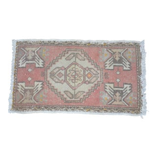 Decorative Oushak Rug - 1′5″ × 3′7″