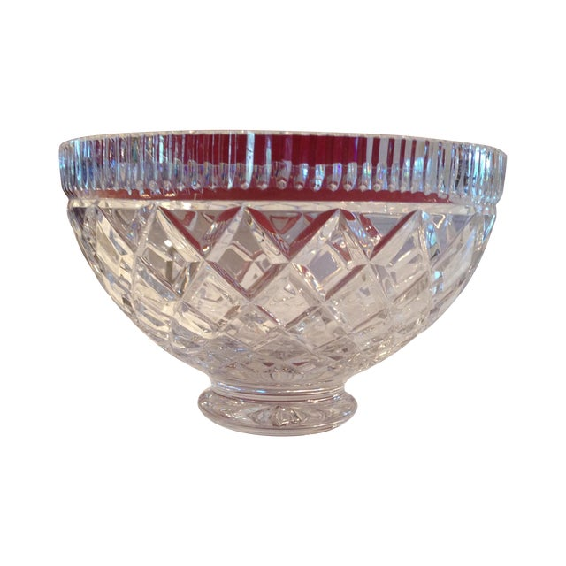Intricate Crystal Bowl - Image 1 of 4