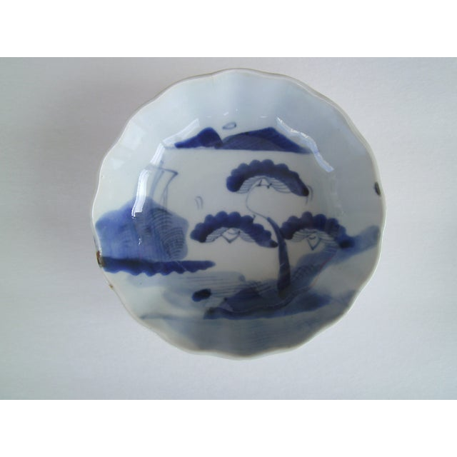 Oriental Blue & White Bowls - A Pair - Image 3 of 8