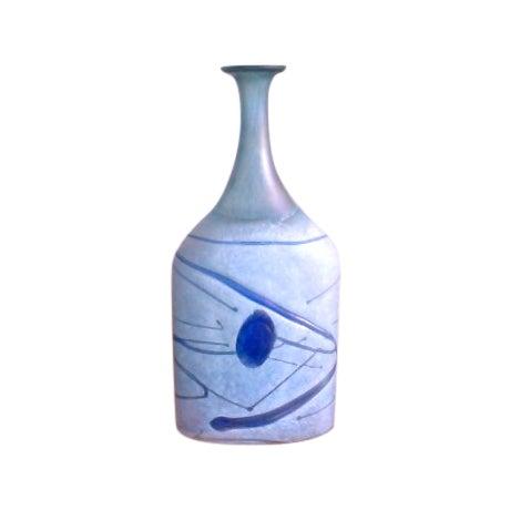 Bertil Vallien Galaxy Kosta Boda Bottle Vase - Image 1 of 6