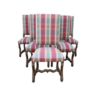 French Louis XIII Dining Chairs - Set of 6
