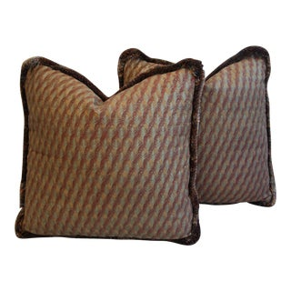 Mariano Fortuny Piumette Pillows - A Pair