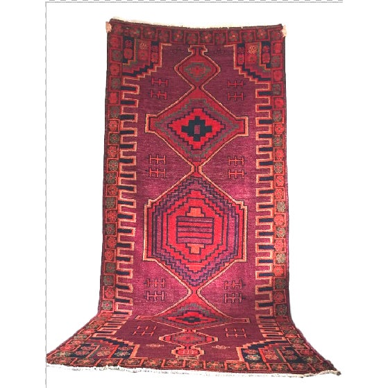"""Hand-Knotted Persian Rug - 4'3"""" X 10'6"""" - Image 2 of 5"""