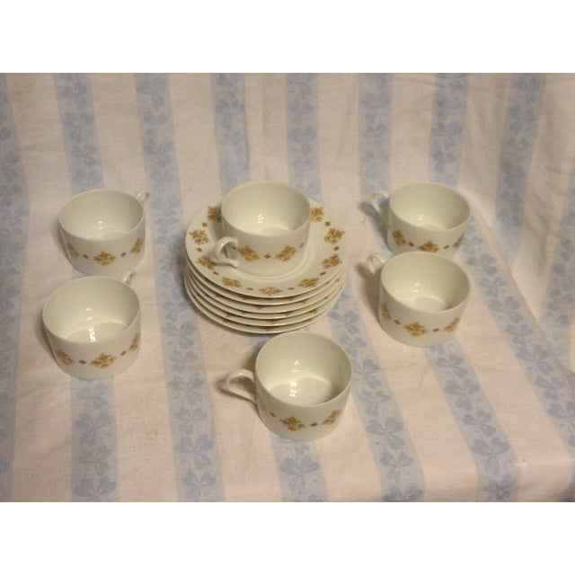 Limoges Demitasse Cups & Saucers - Set of 6 - Image 4 of 7