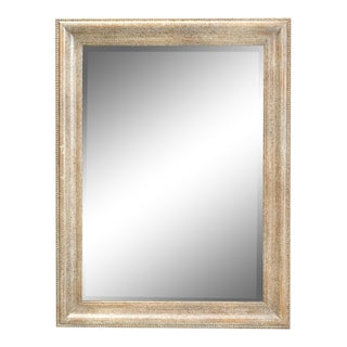 Sarreid Ltd. Spatula Beige Finish Caprice Mirror