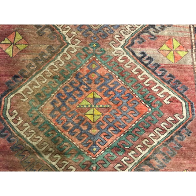 "Vintage Bellwether Rugs Turkish Oushak Rug - 5' x 9'3"" - Image 5 of 10"