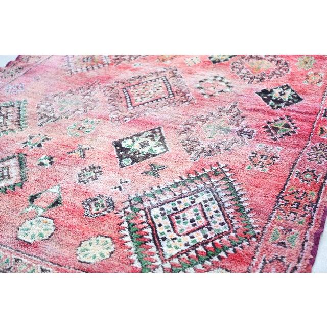 Vintage Moroccan Boujaad Rug 9'4 x 6'3 - Image 3 of 6