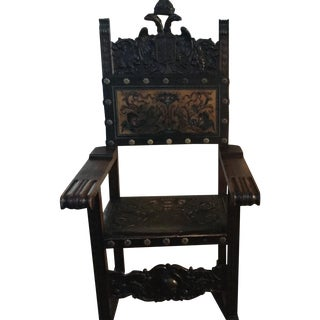 Castle Kings Arm Chair