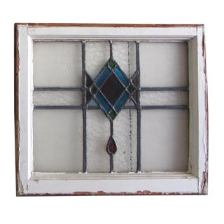 Antique Stained Glass Window Frame