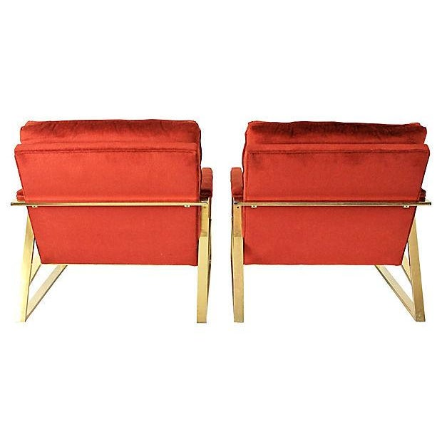 Mid-Century Lounge Chairs - A Pair - Image 3 of 9