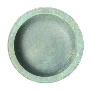 Korean Koryo Dynasty Small Bronze Basin