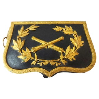 19th-C. French Military Artillery Pouch