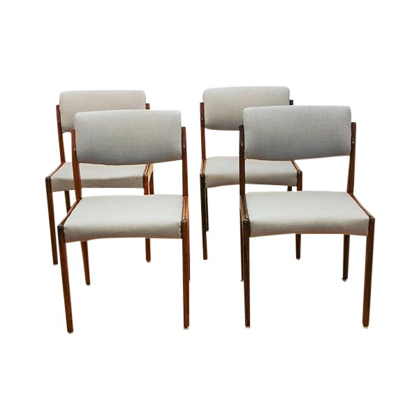 Bramin Rosewood Dining Chairs - 4 - Image 1 of 3