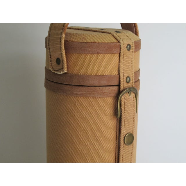 Tweed And Suede Wine Carrier - Image 7 of 8