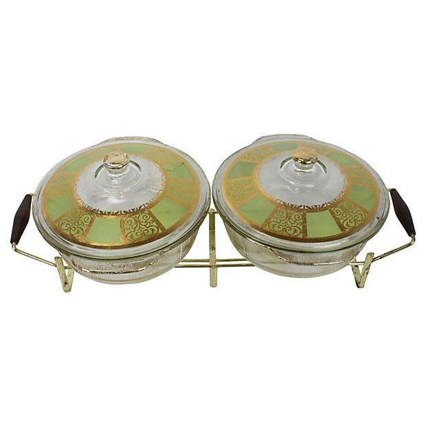 Hollywood Regency Gold Buffet Server - A Pair - Image 2 of 7