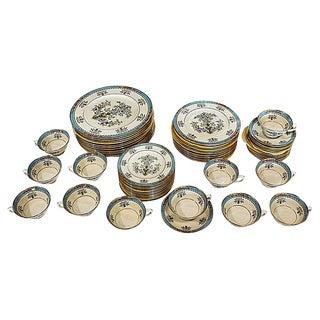Lenox Blue Tree Dinnerware- 60 Pieces