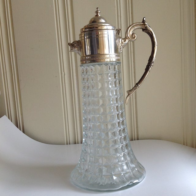 Antique Crystal Pitchers With Handle David Simchi Levi