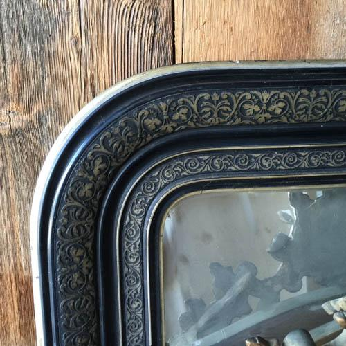 Very Large French Louis Philippe Style Mirror - Image 3 of 7
