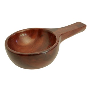 Hand Carved Wood Bowl from Haiti