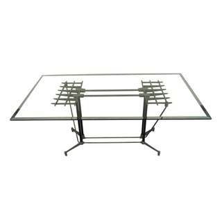 "Vintage ""Split Grid"" Table by Robert Josten"