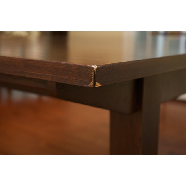 Image of Ethan Allen Horizon Collection Dining Table