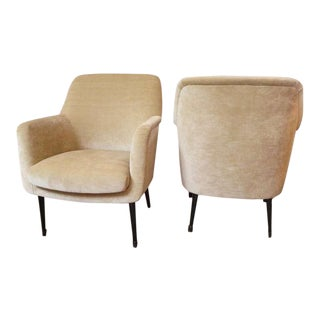 Nino Zoncada Club Chairs from Stella Maris II Ocean Liner