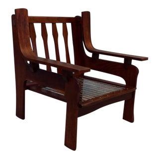 Mid-Century Italian Rosewood Chair