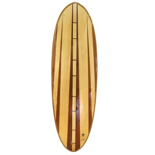 Reclaimed Hollow Wood Surfboard by Ventana