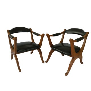 Vintage Colombian Chairs - A Pair