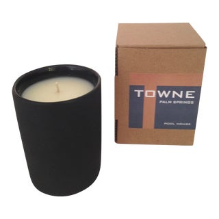 Soy Candle with Black Matte Finish