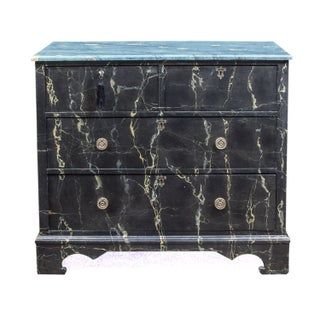 Faux Finished English Period Chest of Drawers