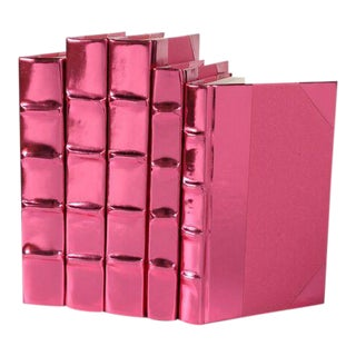 Metallic Collection French Rose Books - Set of 5