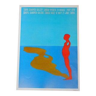 Vintage Poster Lithograph - Ernest Trova